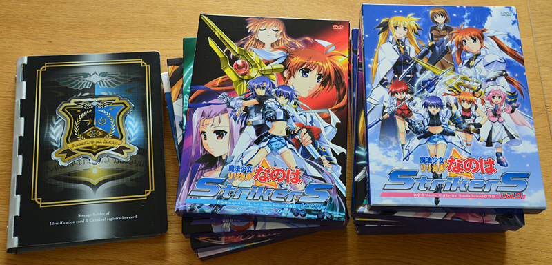 Mahou Shoujo Lyrical Nanoha StrikerS + Books & CDs