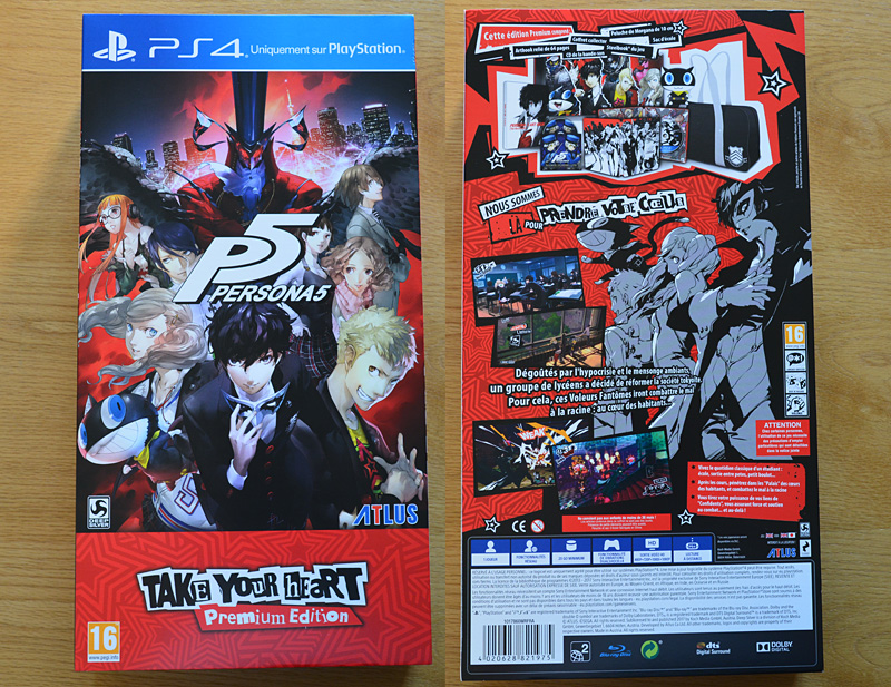 Persona 5 - Take Your Heart Premium Edition [PS4]